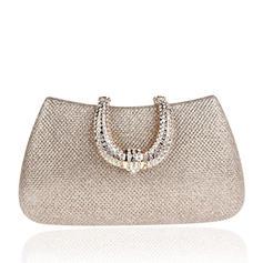 Elegant/Luxury Satin Clutches/Wristlets/Bridal Purse/Fashion Handbags/Makeup Bags
