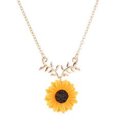 Exquisite Charme Liga com flor Conjuntos de jóias Brincos Moda Brincos