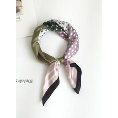 Горошок Квадрат/Легка вага Квадратний шарф