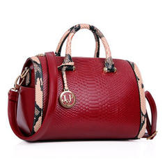 Elegant PU Shoulder Bags/Boston Bags
