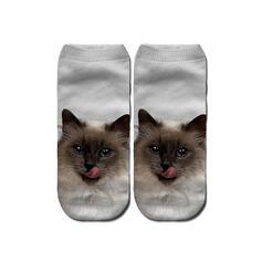 Animal Print Breathable/Ankle Socks/Unisex Socks