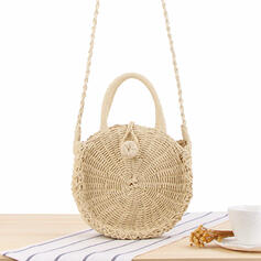 Charming Paper Rope Beach Bags/Bucket Bags