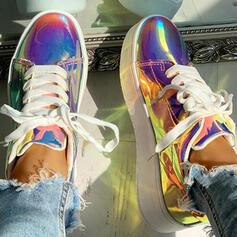 Donna PU Casuale All'aperto con Allacciato scarpe