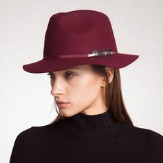 Señoras' Moda/Pretty Madera/Acrílico Bombín / cloché Sombrero