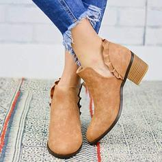 Femmes PU Talon bottier Escarpins Bout fermé Bottes avec Autres chaussures