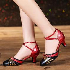 Women's Ballroom Heels Leatherette Modern