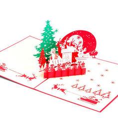 Картонна папір Вітальні листівки Листівки Запрошення