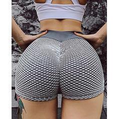Patchwork Sexy Skinny Sporty Shorts