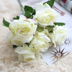 Róże Tkaniny syntetycznej Jedwabne Kwiaty