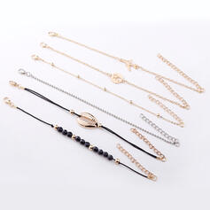Alloy Bracelets Beach Jewelry (Set of 6)