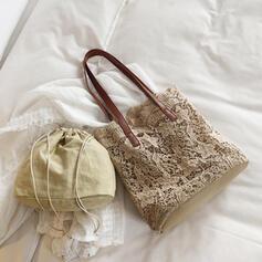 Elegante/Charme/Vintage/Estilo boêmio/Trançado Bolsas de lona/Porta Moedas de Noiva/Sacos de praia