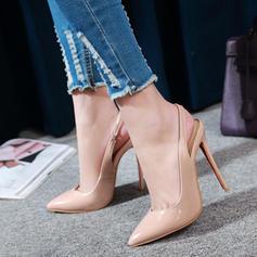 Naisten Keinonahasta Piikkikorko Sandaalit jossa Kuminauha kengät