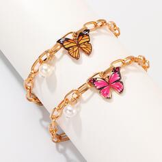 À la mode Refroidir Alliage Bracelets