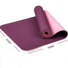 Cómodo Multifuncional TPE Estera de yoga