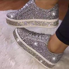 Dla kobiet PU Nieformalny na zewnątrz Z Sznurowanie obuwie