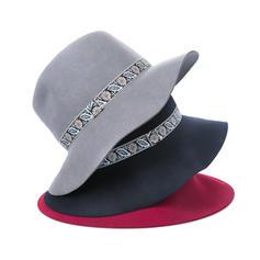 Ladies' Elegant/Unique/Exquisite Wool Floppy Hats