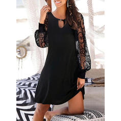 Αμάνικο Πάνω Από Το Γόνατο Μικρό μαύρο/Καθημερινό Сукні