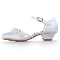 e51bfde695d ... Κλειστά παπούτσια Γοβάκια Κορίτσι λουλουδιών Με Πόρπη Απομιμήσεις Pearl  ...