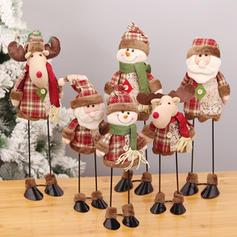 Boże Narodzenie Lalka Tkanina Dekoracje świąteczne