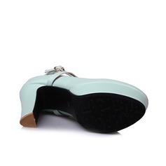 Női Műbőr Tűsarok Magassarkú Emelvény cipő