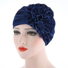 Ladies ' Classic Bomuld med Blomst Diskette Hat