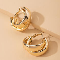 Stylish Alloy Earrings (Set of 2)