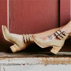 Femmes PU Talon stiletto Escarpins avec Boucle chaussures