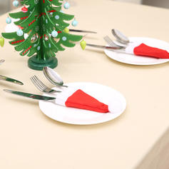 Merry Christmas Non-Woven Fabric Tableware Cover
