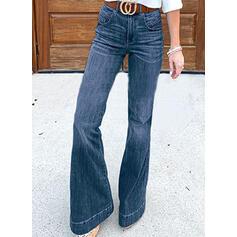 tasche arricciato Taglia grossa Elegante Denim & Jeans