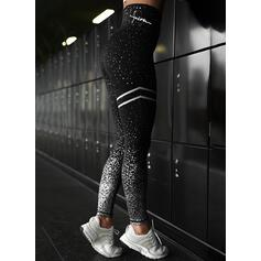 Striped Sequins Long Casual Sporty Pants Leggings