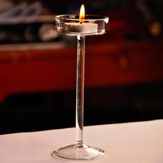 Modern Glass Candlestick