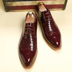 Lace-up Dress Shoes Microfiber Leather Men's Men's Oxfords