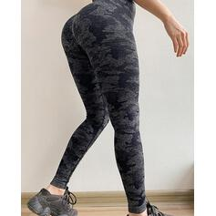 Print Long Skinny Sporty Leggings