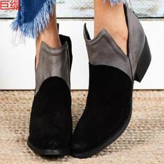 Dámské PU Nízký podpatek Boty S Ostatní obuv