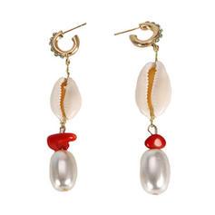 Exotic Imitation Pearls Women's Earrings