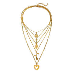 Único Elegante Liga Conjuntos de jóias Brincos