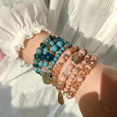 élégant Alliage Cristal Bracelets