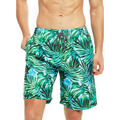 Men's Leaves Board Shorts