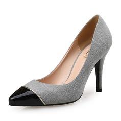 Femmes Tissu Talon stiletto Escarpins chaussures