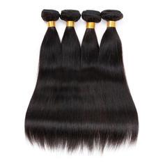 4A Drept Păr Natural Păr Natural Ondulat (Vândut la bucată) 100g