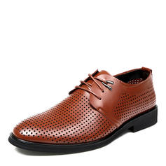 Lace-up Casual Microfiber Leather Men's Men's Oxfords