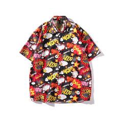 Pour des hommes Inmprimé hawaïen Chemises de plage