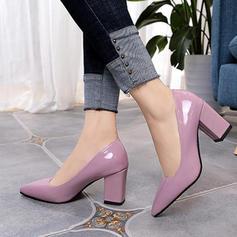 Γυναίκες PU Χοντρό φτέρνα Γοβάκια Με Οι υπολοιποι παπούτσια