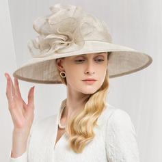 Dames Glamour/Élégante Batiste Chapeaux de type fascinator/Chapeaux Tea Party