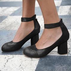 Vrouwen PU Chunky Heel Pumps met Anderen schoenen