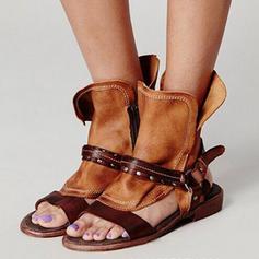 Dla kobiet PU Płaski Obcas Sandały Plaskie Z Pozostałe obuwie