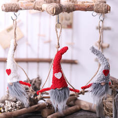 Table Gnome Merry Christmas Cloth Christmas Pendant Tree Hanging Ornaments Doll