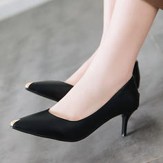 Women's Leatherette PU Stiletto Heel Pumps shoes