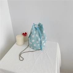 Dot Canvas Crossbody Bags/Shoulder Bags/Bucket Bags
