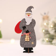 Merry Christmas Santa Tabletop Wooden Wool Christmas Décor Christmas Ornements